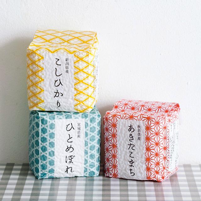菊太屋米穀店 キューブ米9個入(木箱入)