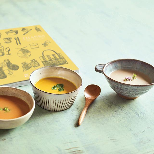 なだ万 なだ万 和風スープ+カタログ式ギフト サンクス ミモザイエロー