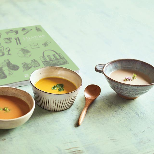 なだ万 和風スープ+カタログ式ギフト サンクス オリーブグリーン サブ画像1