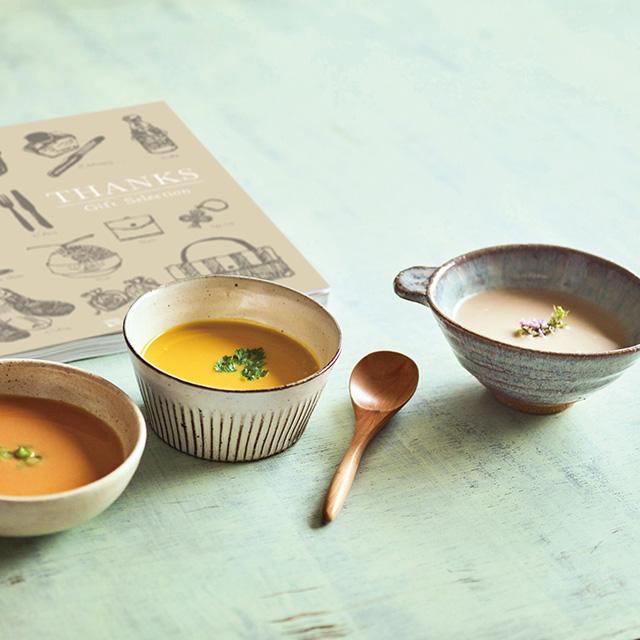 なだ万 なだ万 和風スープ+カタログ式ギフト サンクス シルクブロンズ