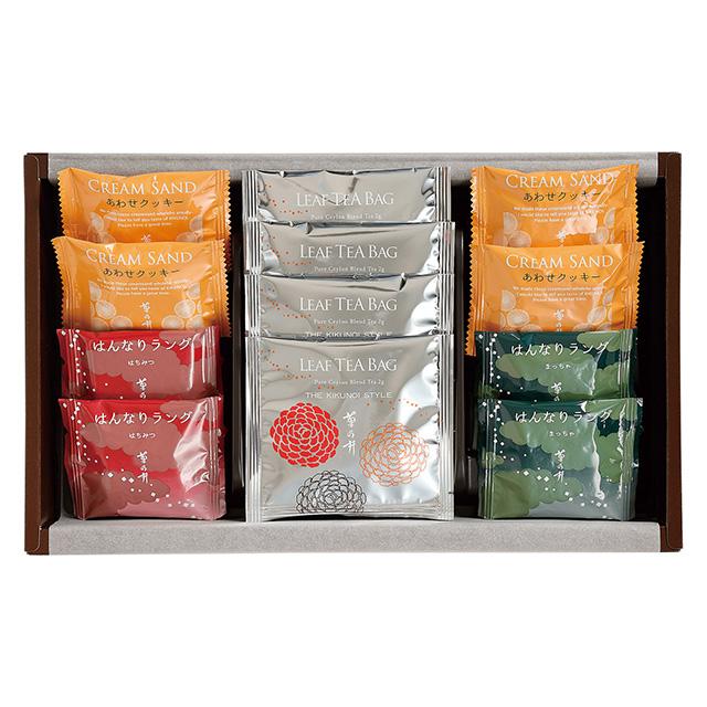 菊乃井 焼菓子8個&紅茶詰合せ