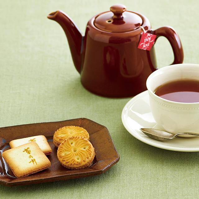 菊乃井 焼菓子12個&紅茶詰合せ
