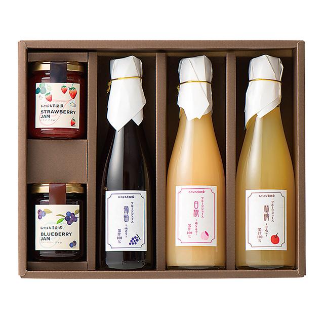 たかはた果樹園 フルーツジュース&ジャムセット サブ画像1