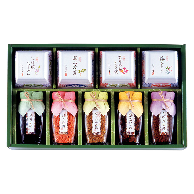 わらびの里 京楽味9種