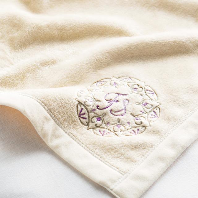 西川リビング シルク入り綿毛布 (毛羽部分)2枚セット