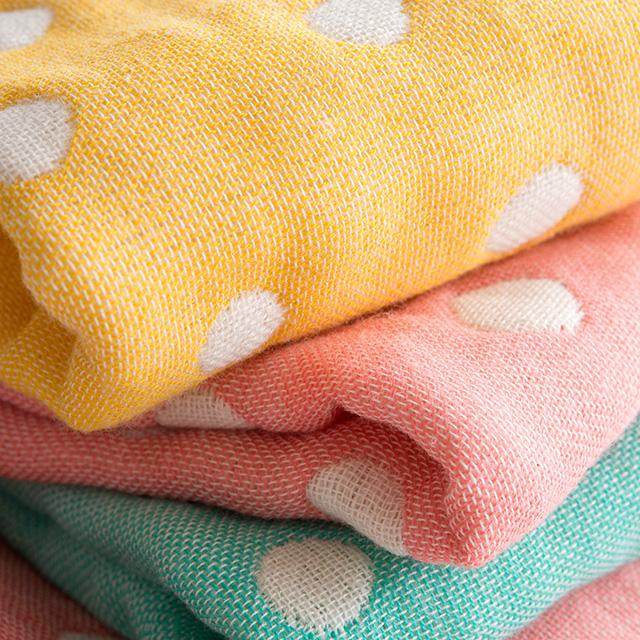 ふわもこガーゼ 5重織りタオル3枚セット