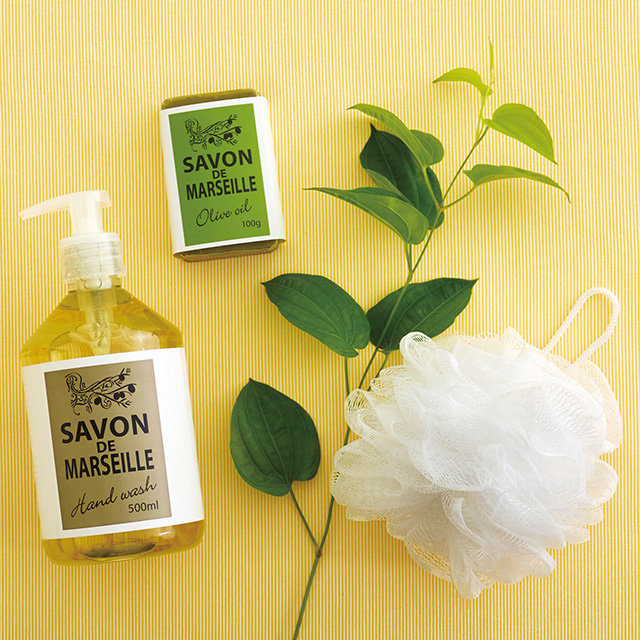 Maitre Savon de Marseille 石鹸タオルセット