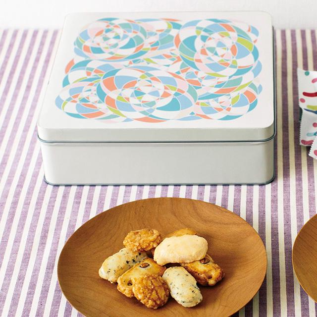 泰平製菓 おかきアソート(S)+webカタログ式ギフト ウォームハート