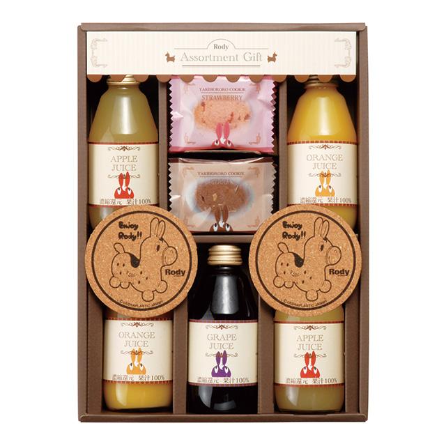 RODY ジュース5本&クッキーセット