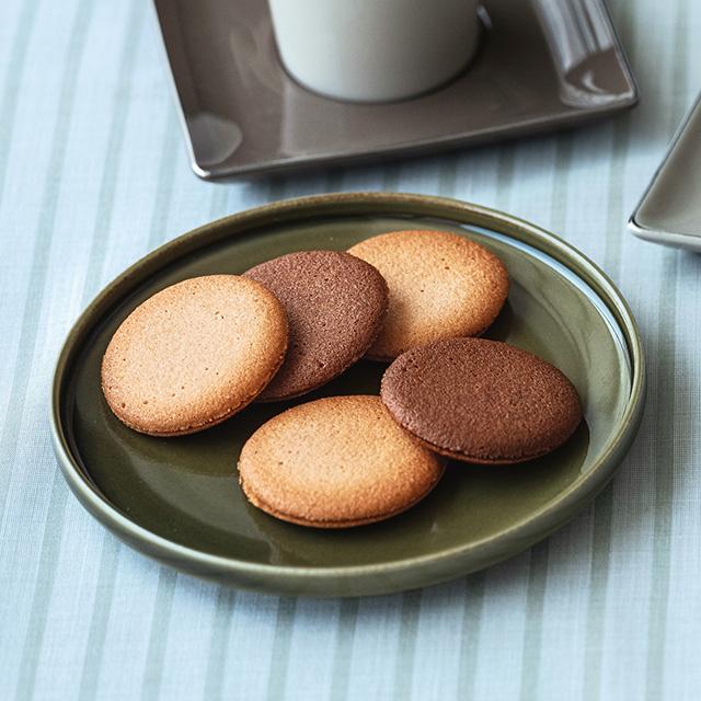 ゴディバ クッキーアソートメント18枚入+カタログ式ギフト サンクス ペールブルー サブ画像1