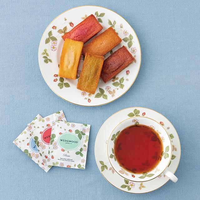 フィナンシェ8個&ウェッジウッド 紅茶セット サブ画像1
