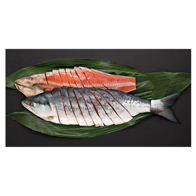 鮭匠ふじい 鮭味くらべ姿造り サブ画像1