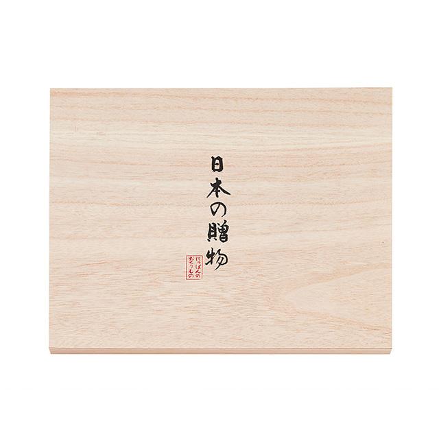 日本の贈物フェイスタオル2枚(桐箱入) サブ画像1