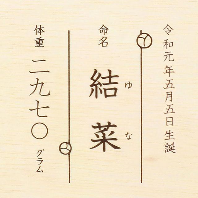 名入れ新潟県奥阿賀産こしひかりB サブ画像1