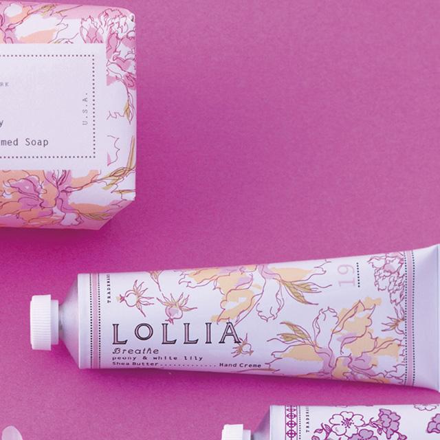 LoLLIA ハンドクリーム&ソープセット BR