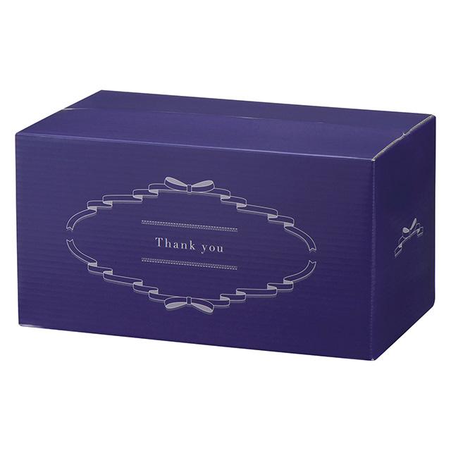 ホテルオークラ ホテルオークラ フルーツ&チョコレートケーキ+カタログ式ギフト サンクス ペールブルー