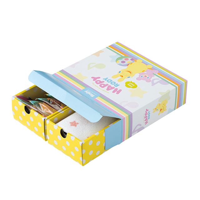 スイーツ&タオル詰合せBOX A ピンク サブ画像1