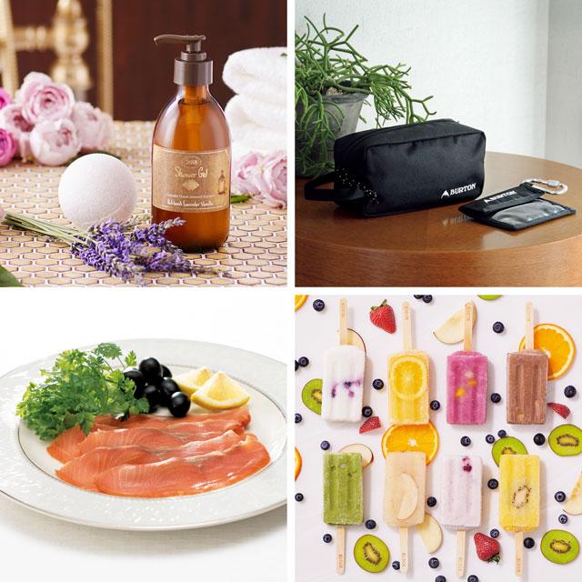カタログ式ギフト プレゼンテージブライダル ギャロップ+有料ラッピング(ピンクの扇と飾紐) サブ画像1