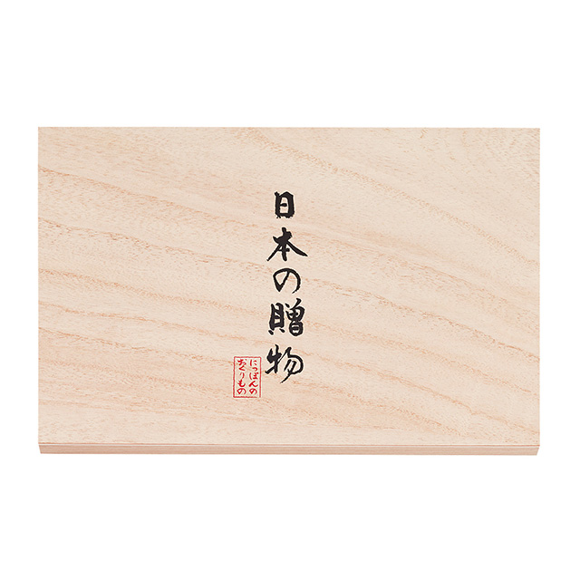 日本の贈物 フェイスタオル(桐箱入) サブ画像1
