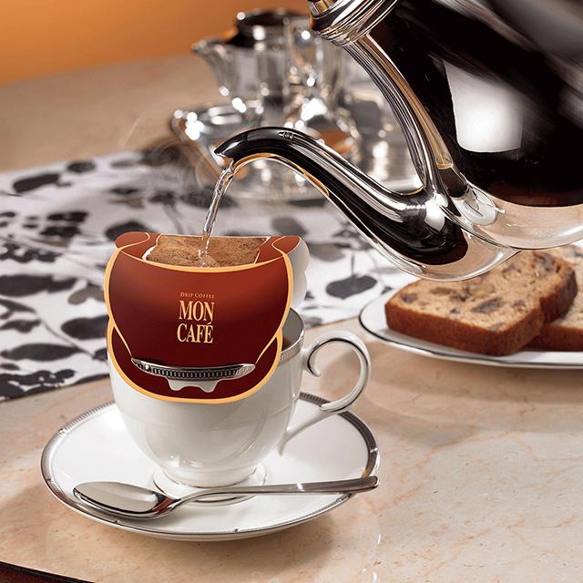 モンカフェ ドリップコーヒー 4種セット サブ画像1