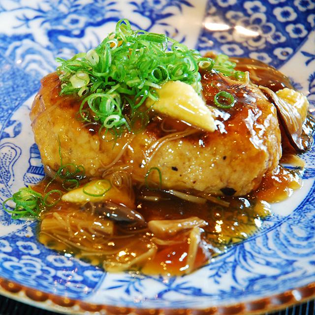 みのり ローストビーフと和風きのこ餡煮込みハンバーグ サブ画像1