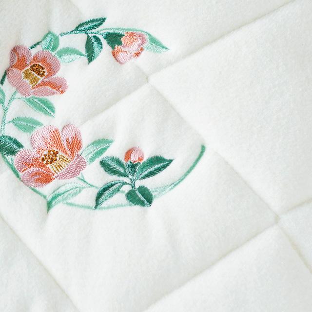 素材の匠 泉州織 泉州織シルク混敷パッド2枚セット