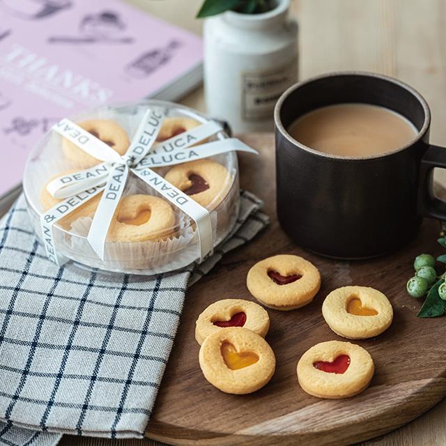 ディーン&デルーカ ハートのジャムサンドクッキーアソート+カタログ式ギフト サンクス ホイップピンク サブ画像2