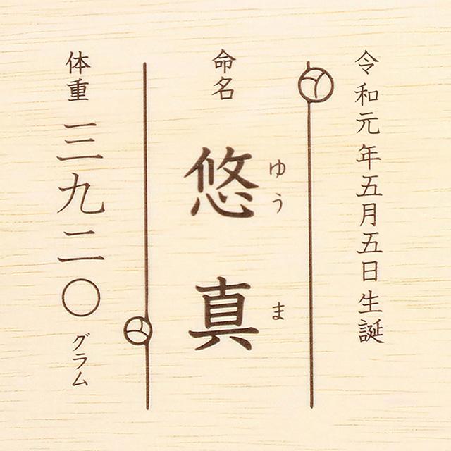 名入れ新潟県奥阿賀産こしひかりA サブ画像2