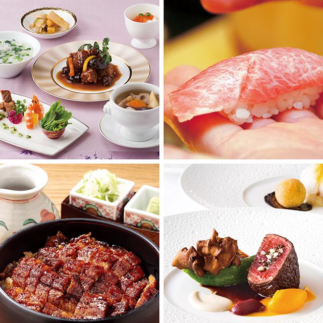 LUPICIA カタログ式ギフト 選べる食事ギフト 美食のダイニング+ルピシア ゼクシィオリジナルティーセット+あすなろ タオル4枚セット