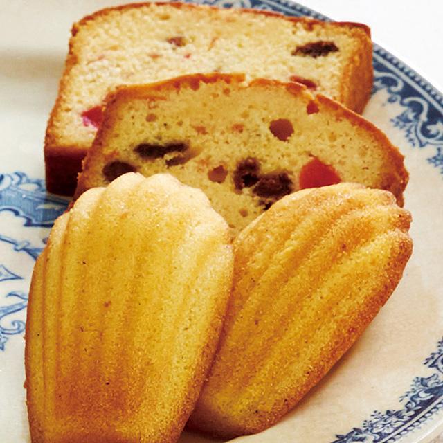 ル・コルドン・ブルー 焼菓子14個詰合せ+カタログ式ギフト サンクス ペールブルー サブ画像2