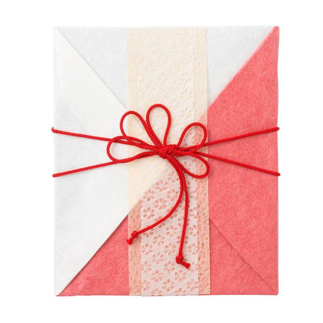 カタログ式ギフト プレゼンテージブライダル デュオ+有料ラッピング(紅白貼合せと飾紐) サブ画像2