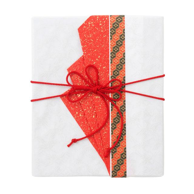 カタログ式ギフト プレゼンテージブライダル ビオラ+有料ラッピング(赤色の扇と飾紐)+ゴディバ クッキーアソートメント55枚入 サブ画像2