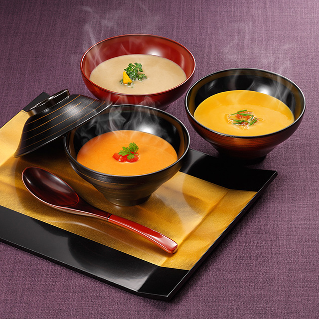 カタログ式ギフト サンクス シルクブロンズ+なだ万 和風カレー・スープ詰合せ サブ画像3