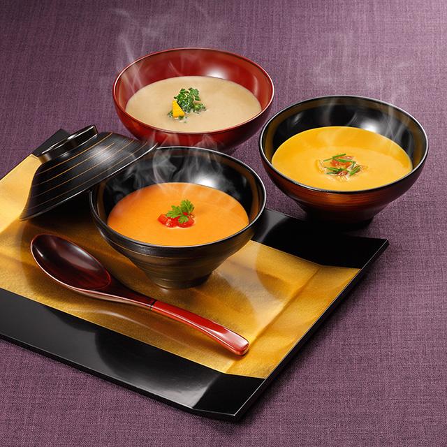 カタログ式ギフト サンクスプレミアム 露草・つゆくさ+なだ万 和風カレー・スープ詰合せ サブ画像3