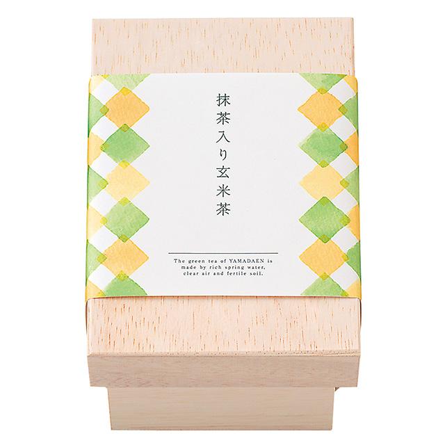 ヤマダエン.シズオカ ティーバッグ(茶箱入) 抹茶入り玄米茶