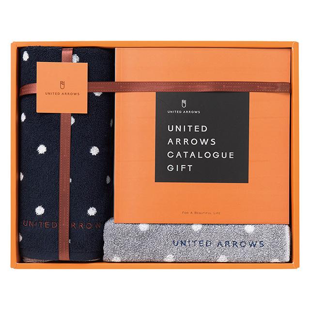 UNITED ARROWS スモールドット ゲストタオル2枚&カタログセット