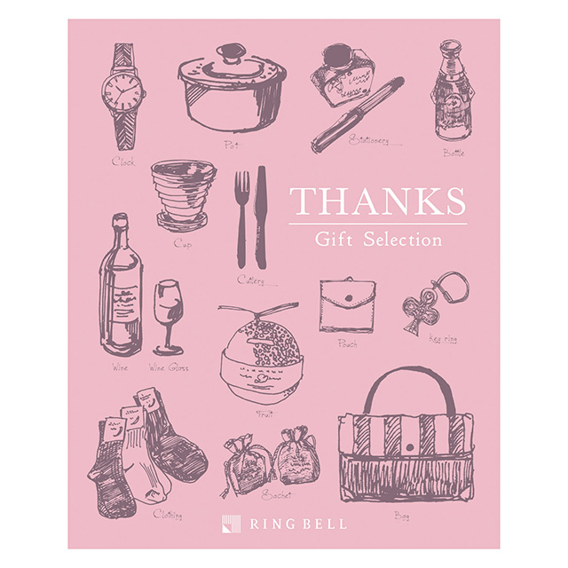 カタログ式ギフト サンクス Whip Pink・ホイップピンクのサムネイル
