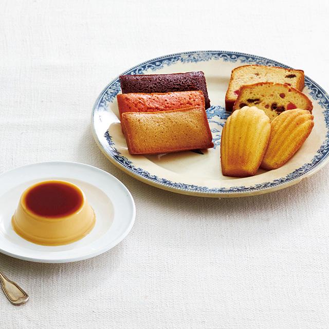 ル・コルドン・ブルー 焼菓子&プリン詰合せ