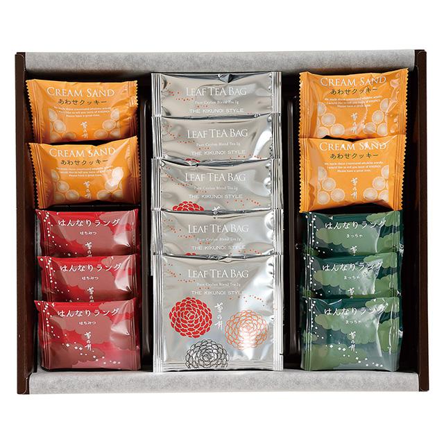 菊乃井 焼菓子10個&紅茶詰合せ