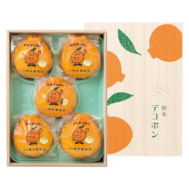 日本の極み 熊本県産 デコポン(木箱入)