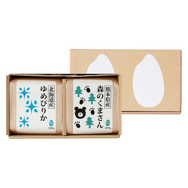 菊太屋米穀店 お米2種食べ比べセット(2合パック)