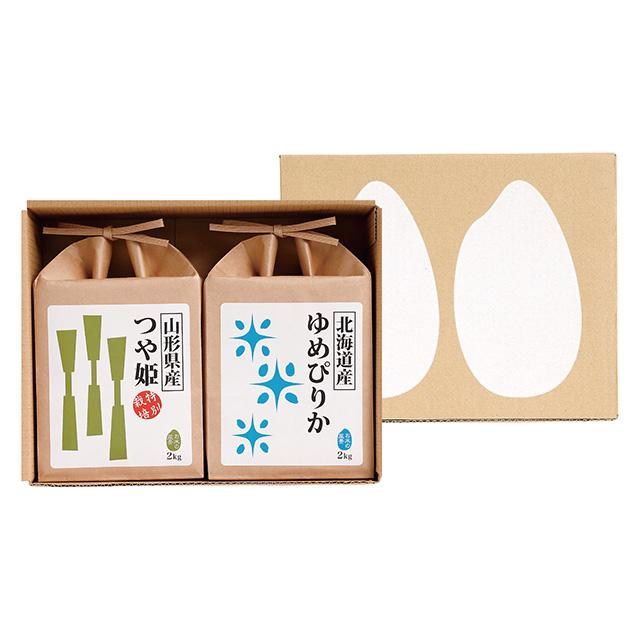 菊太屋米穀店 お米2種食べ比べセット
