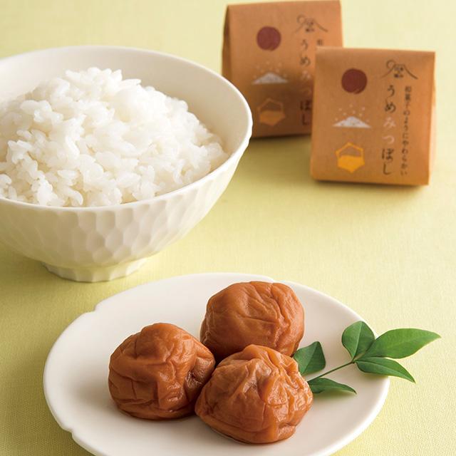 うめみつぼし12粒(個包装)木箱入 メイン画像