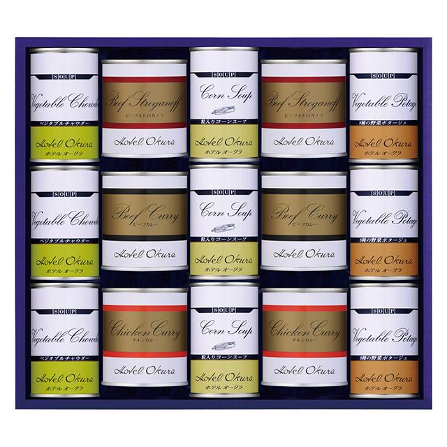 スープ・調理缶詰15個詰合せ メイン画像
