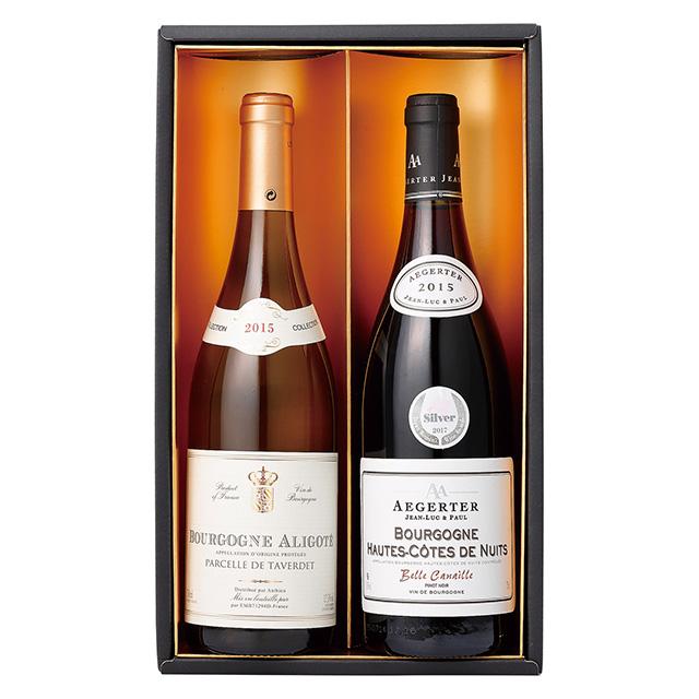 ブルゴーニュ赤白ワインセット