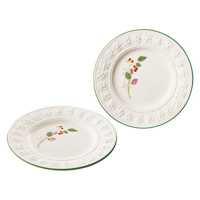 WEDGWOOD Queen's Ware Collection ペアプレート21cm