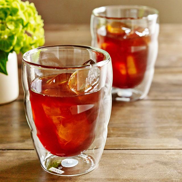 bodum ペアダブルウォールグラス
