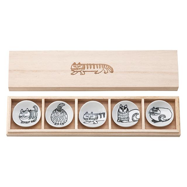 LISA LARSON 箸置セット(木箱入)