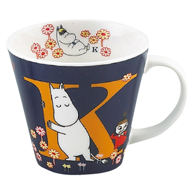 MOOMIN イニシャルマグ K