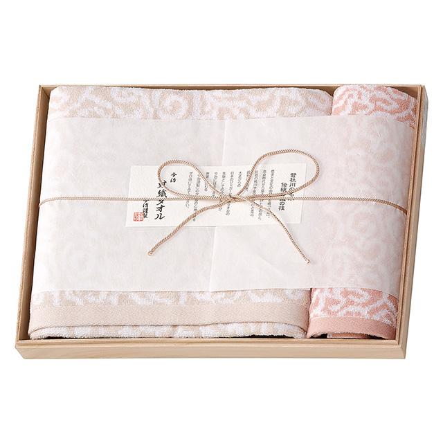 今治謹製 紋織タオル タオル2枚セット